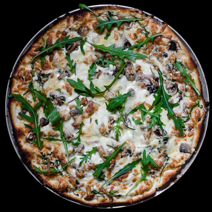 Грибная пицца